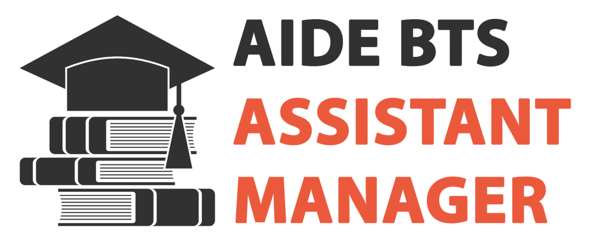 Aide BTS Assistant Manager